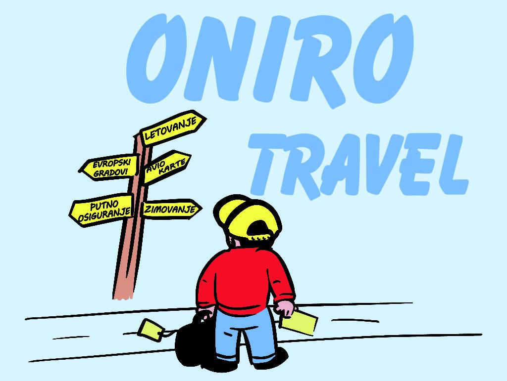 Turisticka Agencija Beograd, Oniro Travel, Vracar, Vozdovac, Zvezdara